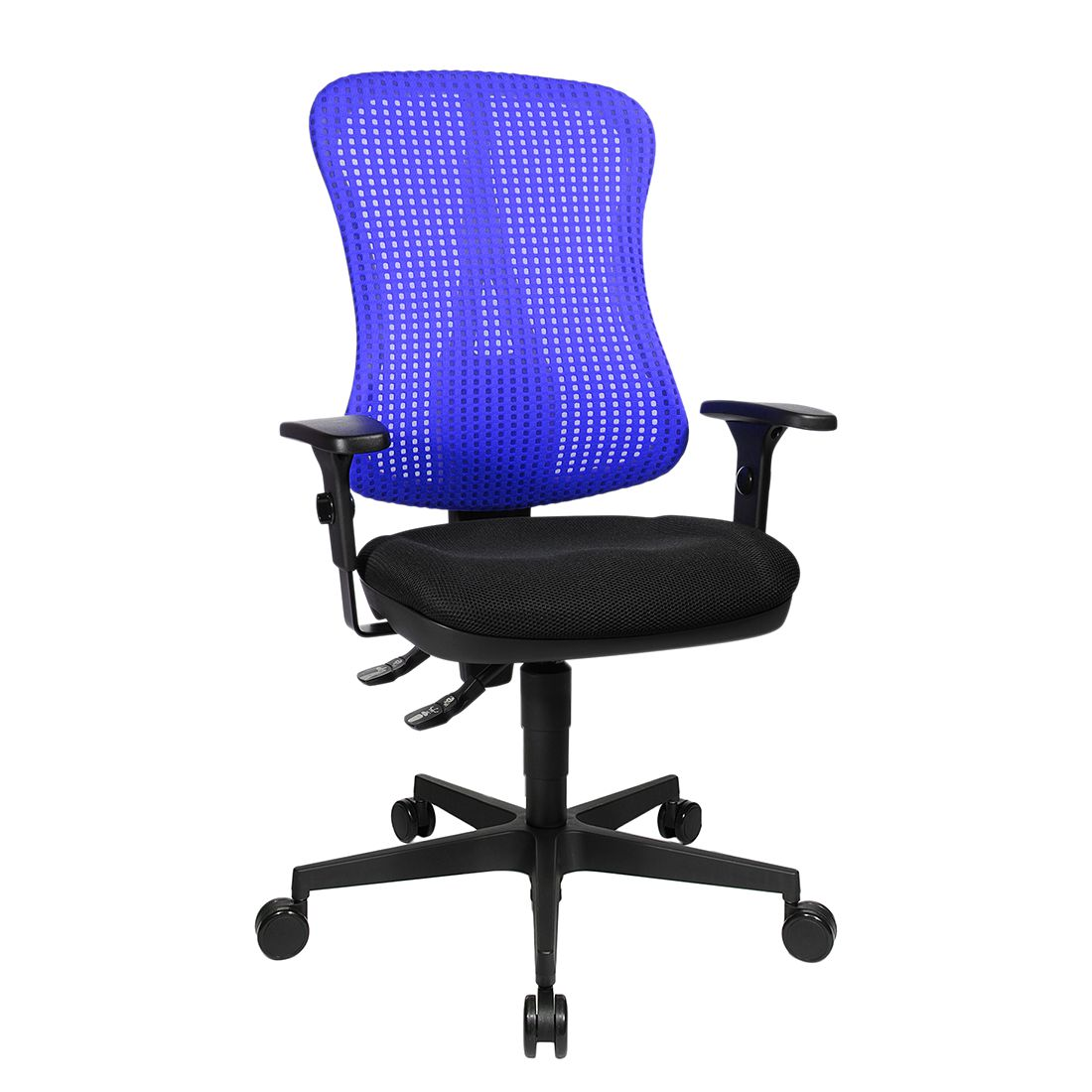 home24 Buerodrehstuhl Head Point   Büro > Bürostühle und Sessel    Blau   Topstar