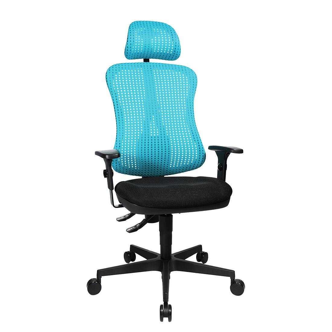 home24 Buerodrehstuhl Head Point | Büro > Bürostühle und Sessel  | Blau | Topstar