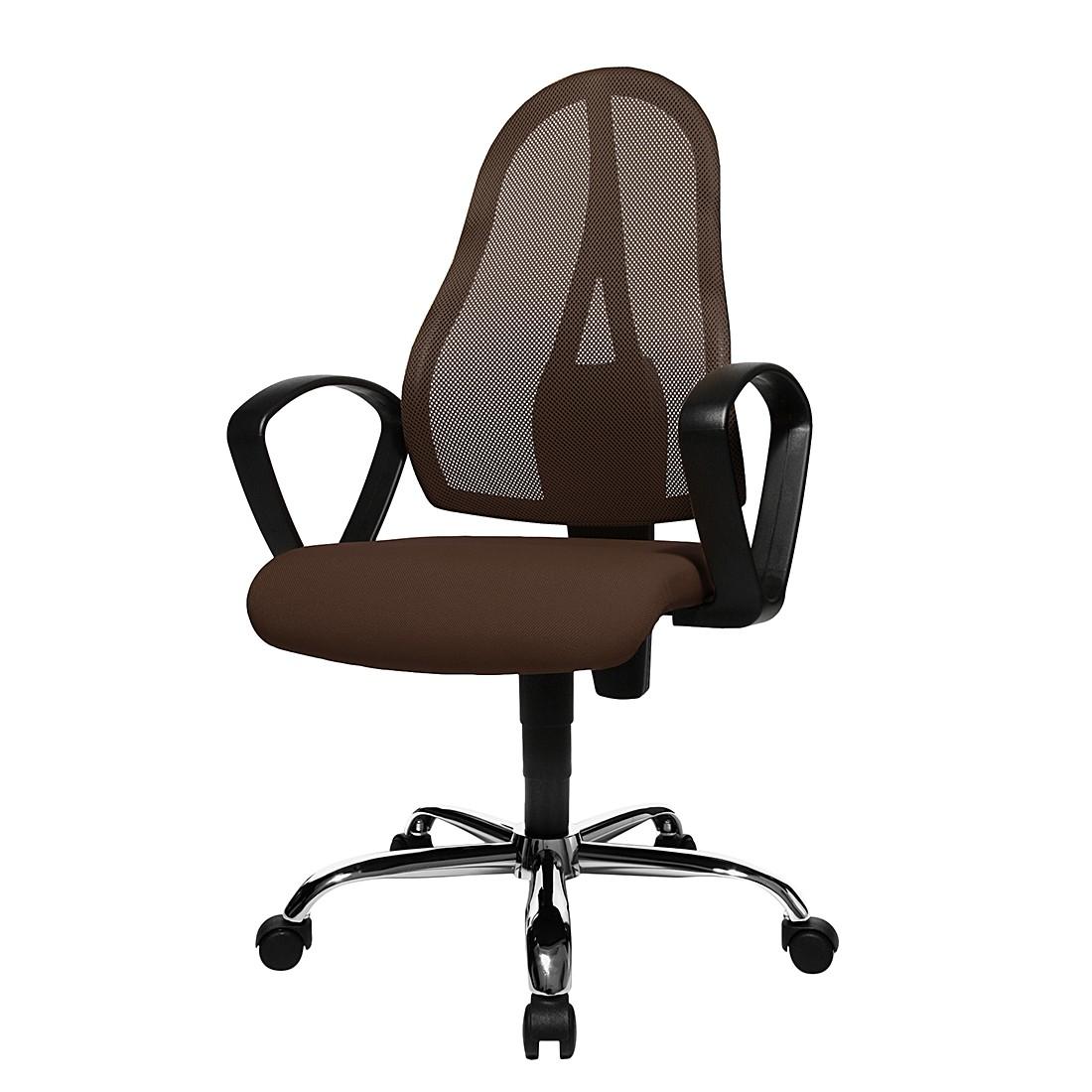 home24 Buerodrehstuhl Open Point P Somo | Büro > Bürostühle und Sessel  > Bürostühle | Braun | Kunststoff - Textil | Topstar