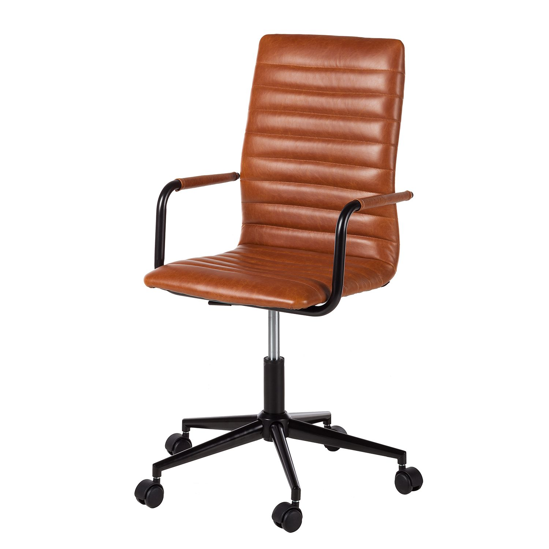 home24 Buerodrehstuhl Waledas   Büro > Bürostühle und Sessel  > Bürostühle   Braun   Kunstleder   mooved