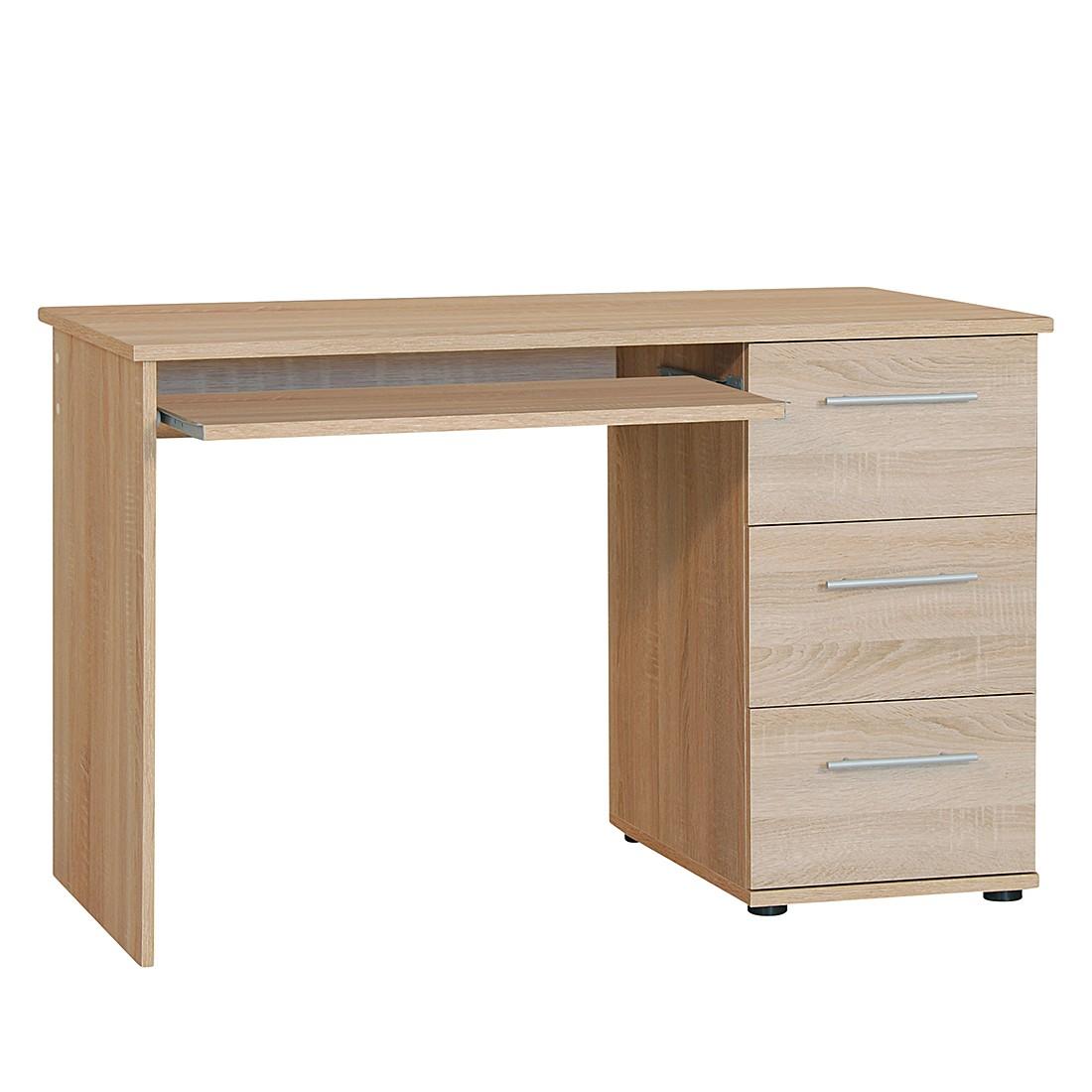 home24 Computertisch Calvin   Büro > Bürotische > Computertische   Braun   Holz   home24office