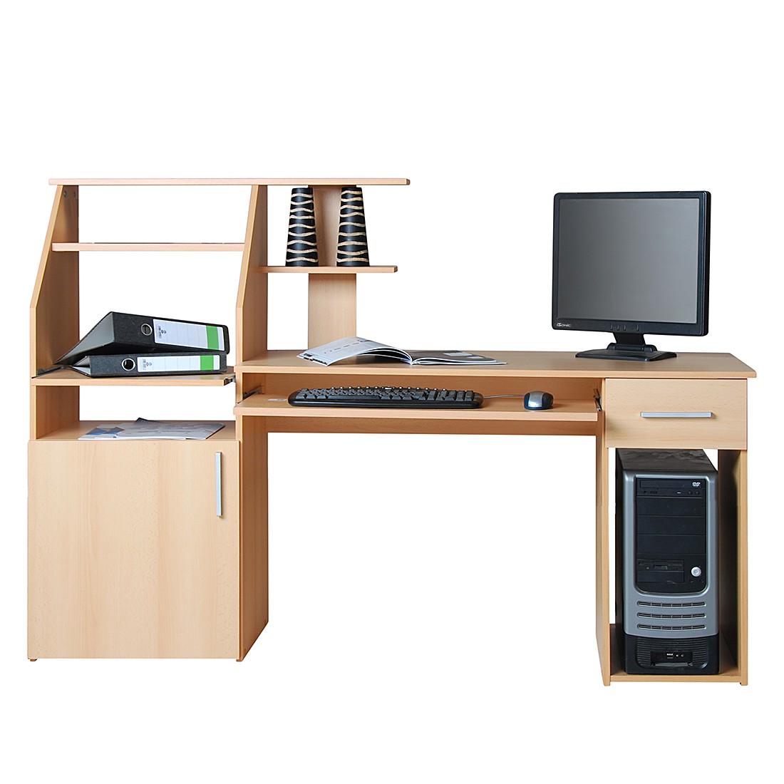 computertische buche preisvergleich die besten angebote online kaufen. Black Bedroom Furniture Sets. Home Design Ideas