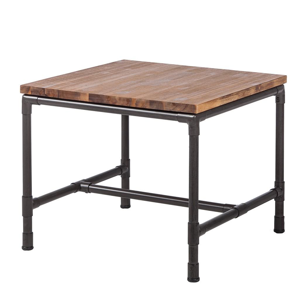 Tavolino da salotto Atelier II - Legno parzialmente massello di acacia Lava Parzialmente in legno, ars manufacti