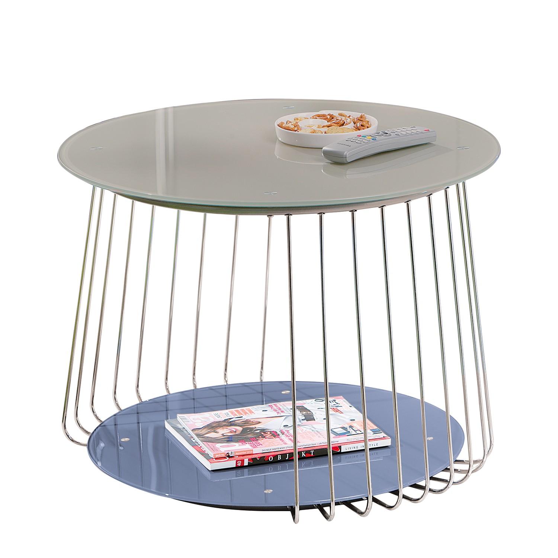 Tavolino da salotto Bird - Color talpa, roomscape