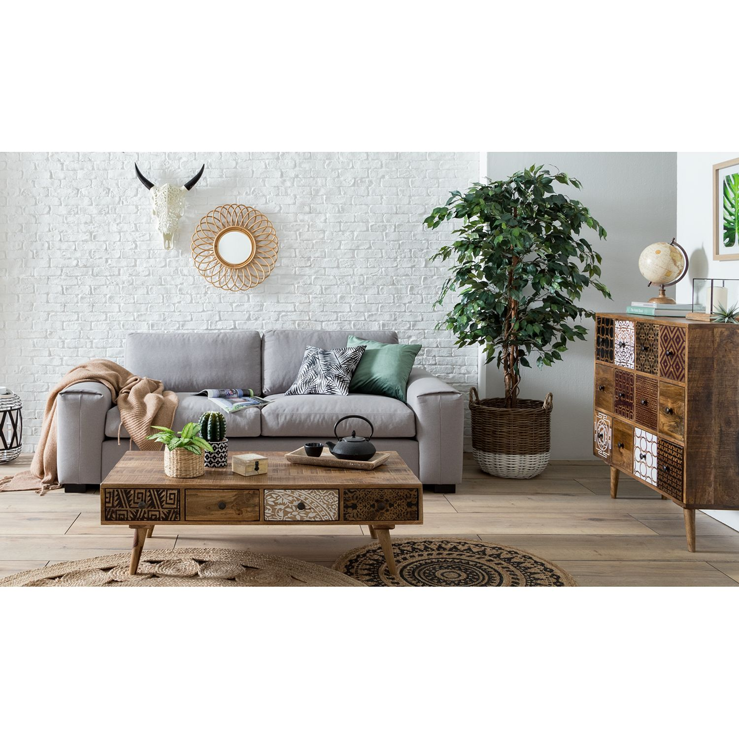 home24 Couchtisch Rygge