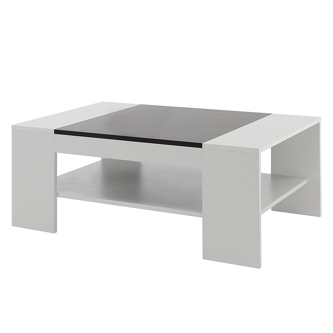 Tavolino da salotto Hays - Bianco/nero, Fredriks