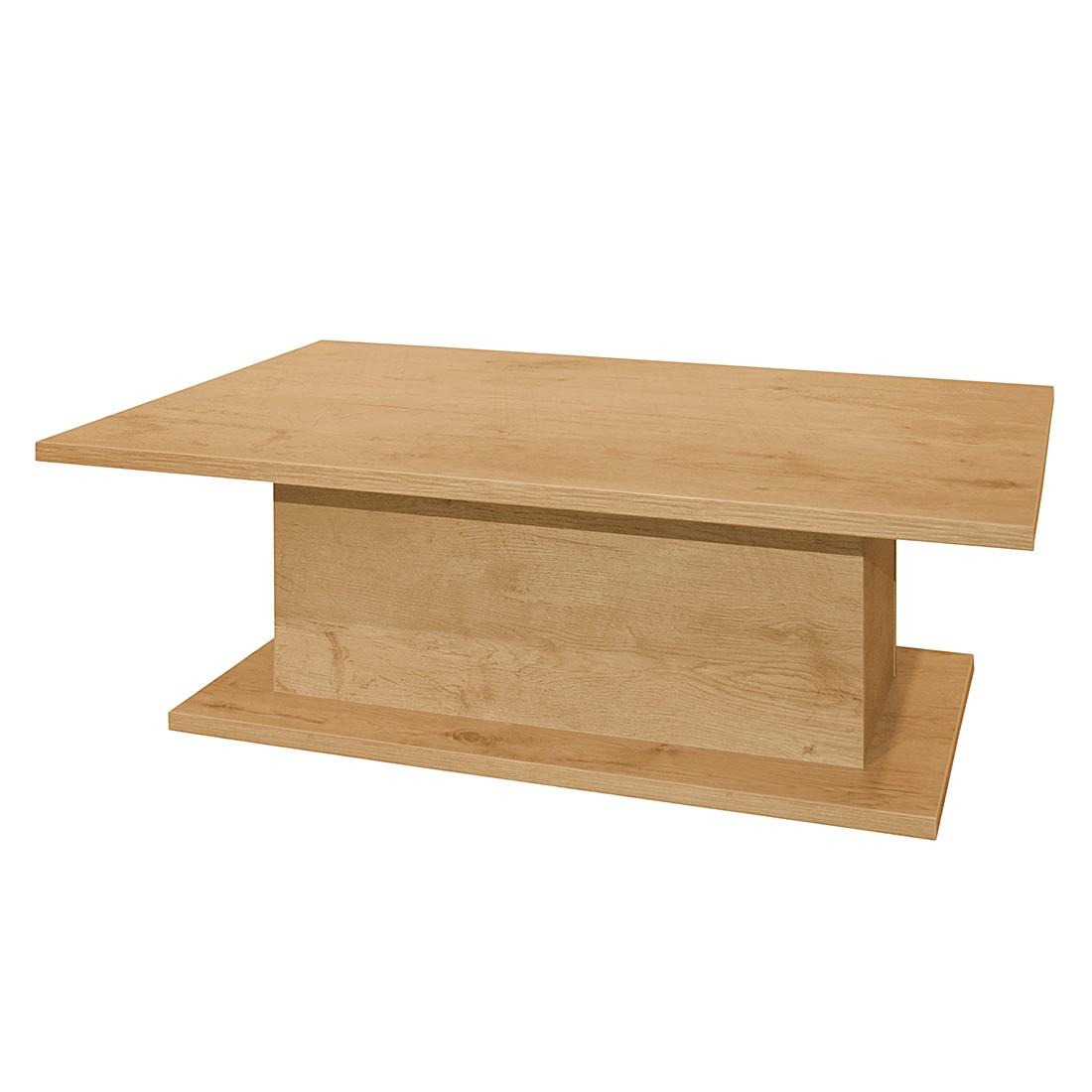 Tavolino da salotto Leaf II - Effetto quercia selvatica, Fredriks