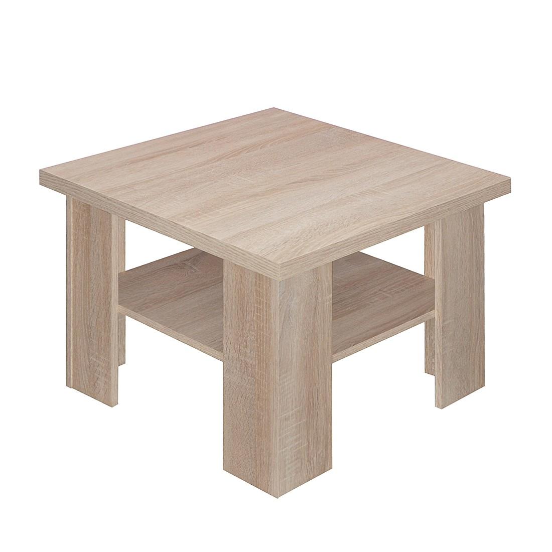 Tavolino da salotto Leaf III - Effetto quercia grezza, Fredriks