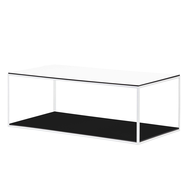 Table basse Piet II - Blanc / Blanc, Studio Copenhagen