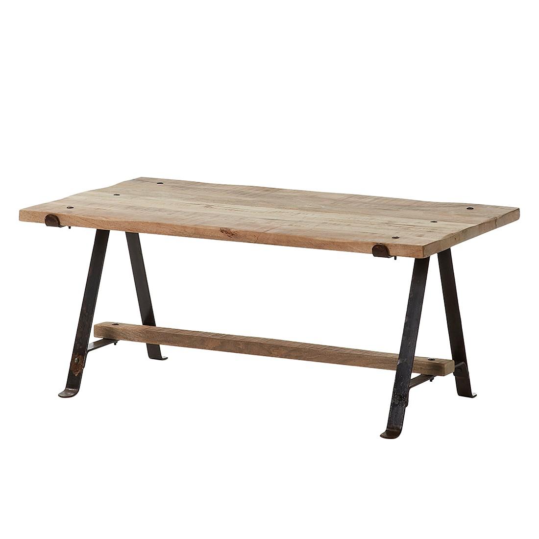 Tavolino da salotto Sindal - Legno massello di mango tavolino, ars manufacti