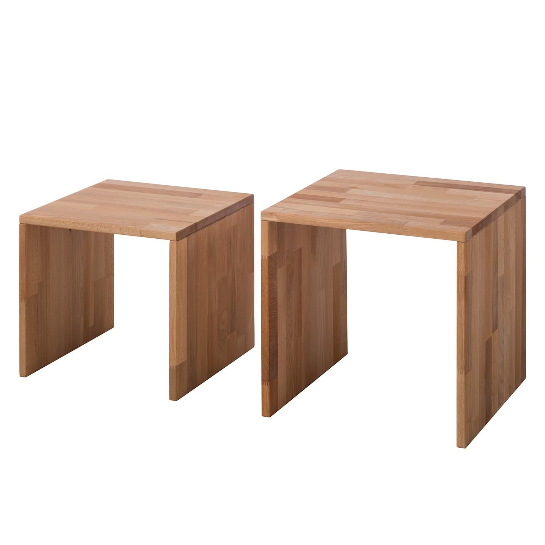 Table basse gigogne SurinWOOD (2 élément