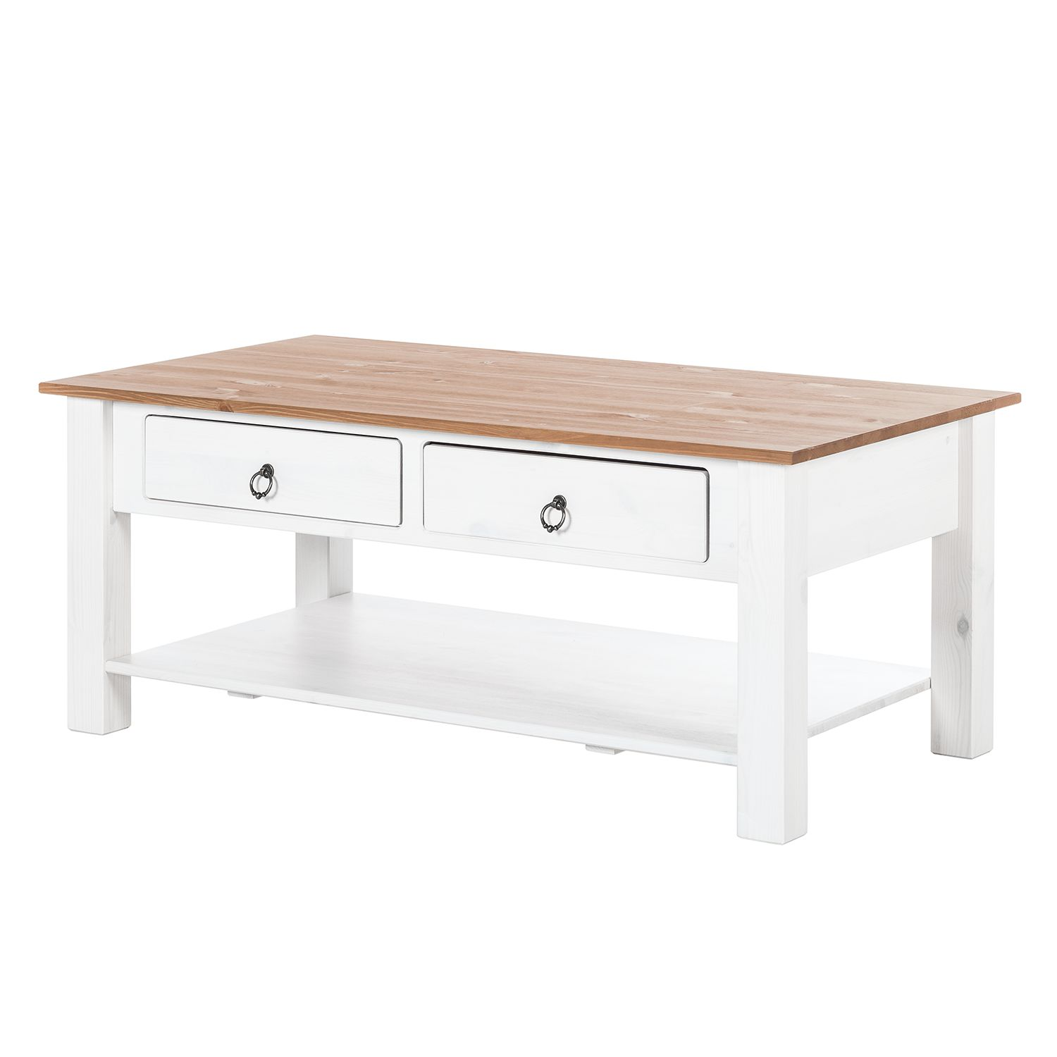Table d'appoint Valmer II - Pin massif Couleur miel, Maison Belfort