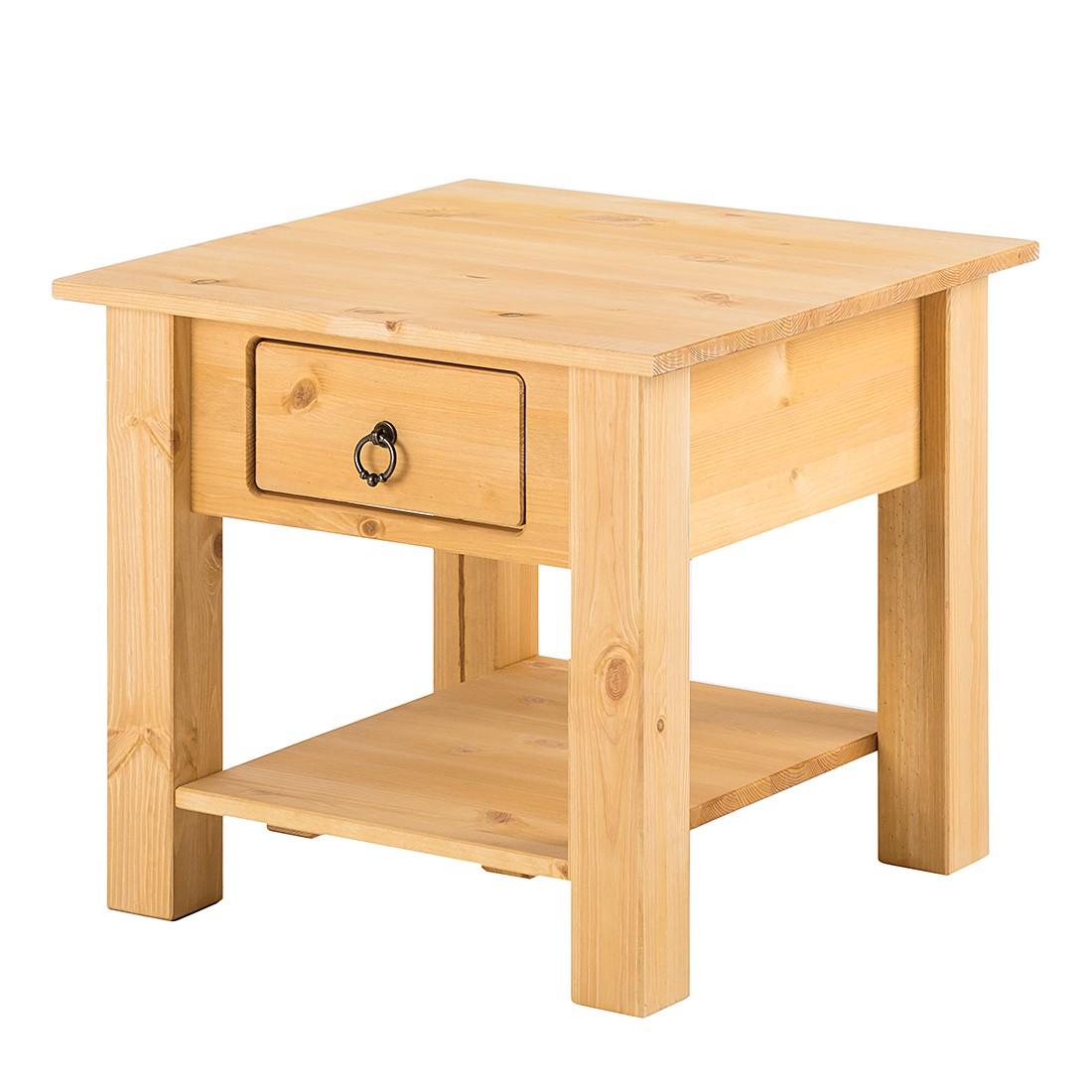 Tavolino da salotto Valmer I - Legno massello di pino, Maison Belfort