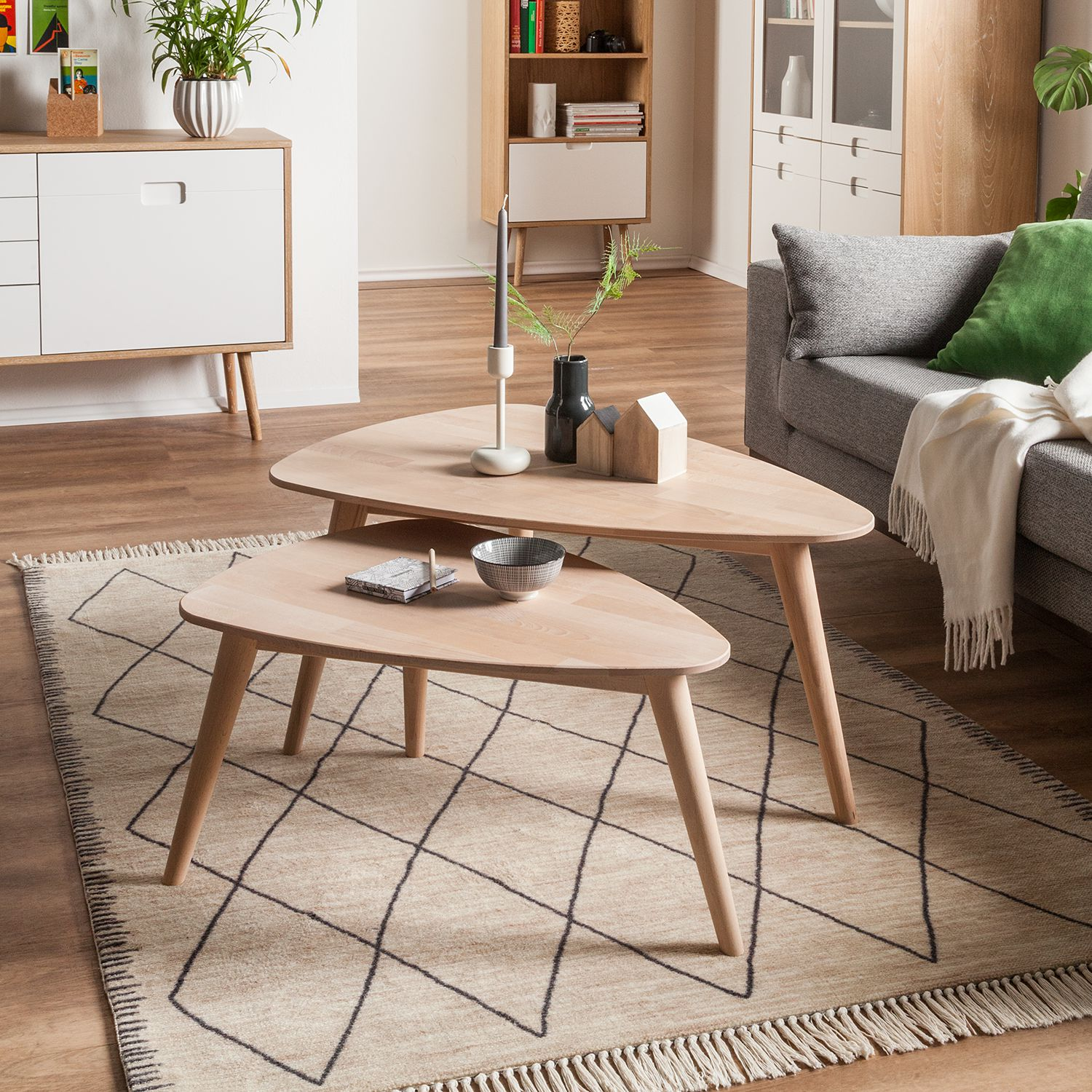 home24 Couchtisch Finsby (2er-Set)