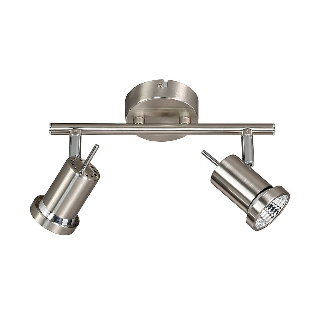 energie A+, Plafondlamp HOORN metaal 2 lichtbronnen, Action