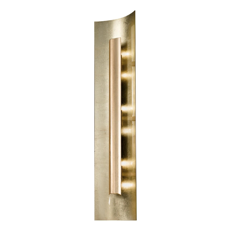 Wandleuchte Aura Gold 45 Cm Kaufen - Metall / Glas Silber 2-flammig