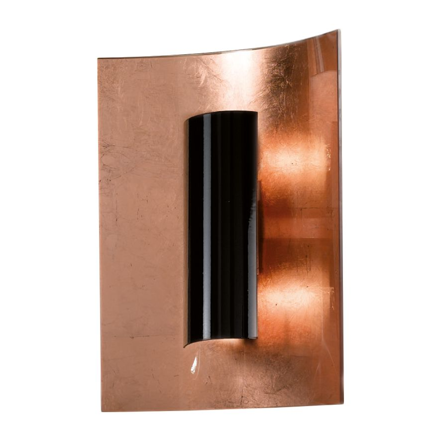 home24 Wandleuchte Aura Kupfer 30 cm