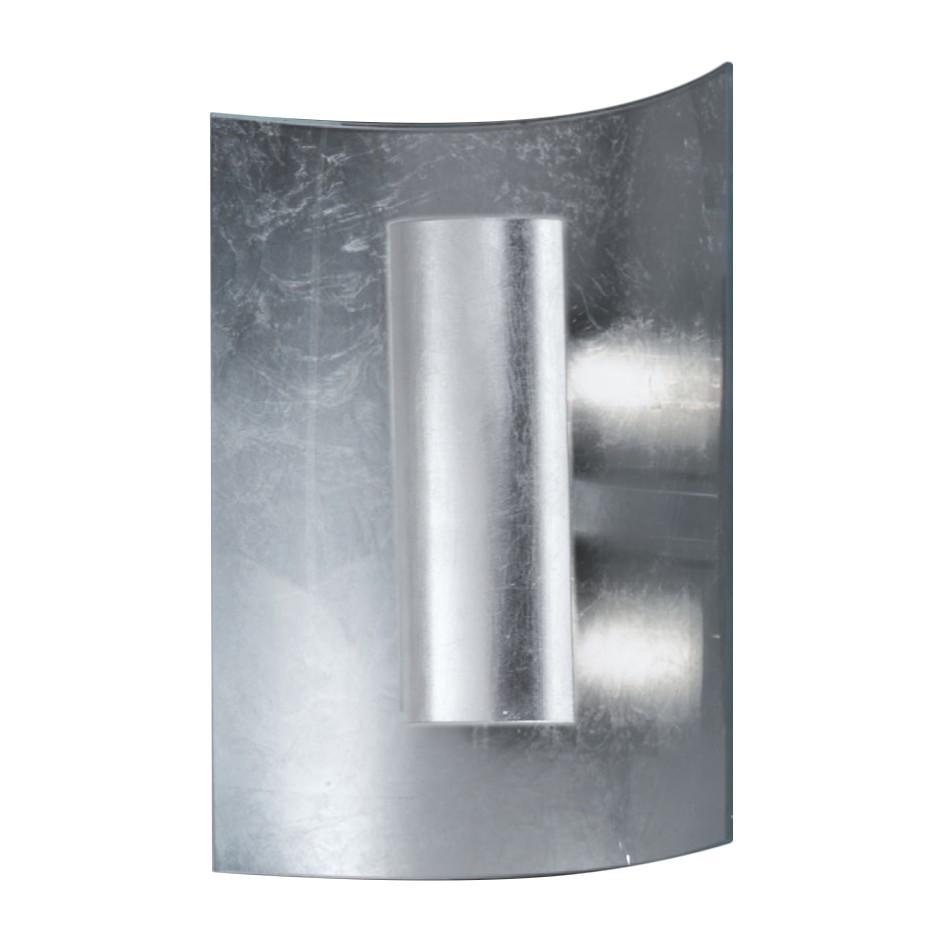 Wandleuchte Aura Silber 30 cm