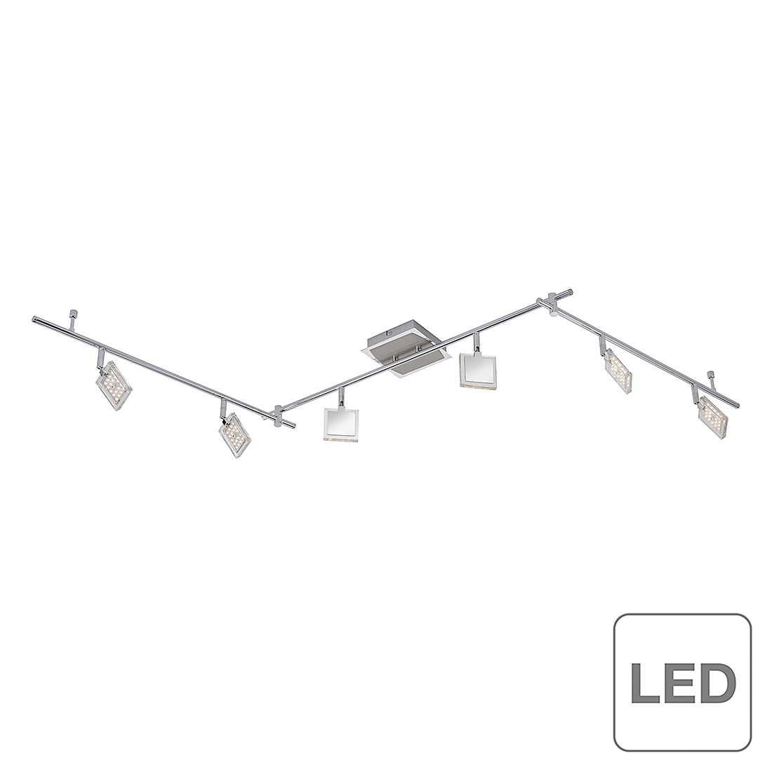 home24 LED-Deckenleuchte Dl