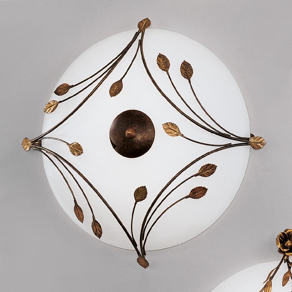 Lampada da soffitto Foglie, Hans Koegl