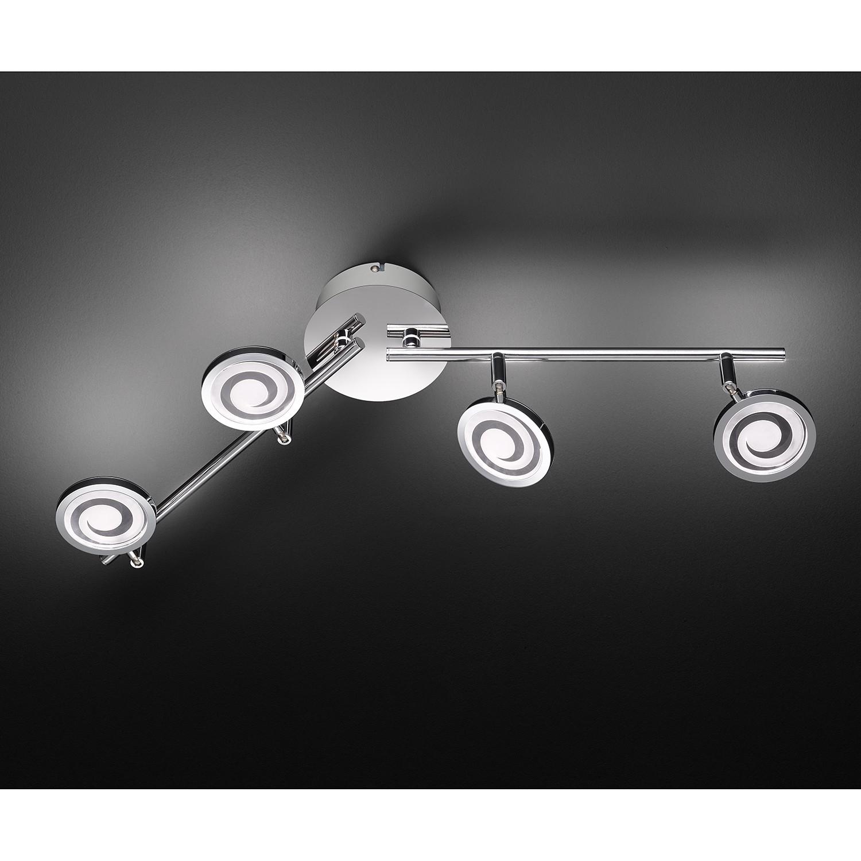 home24 LED-Deckenleuchte Morris II