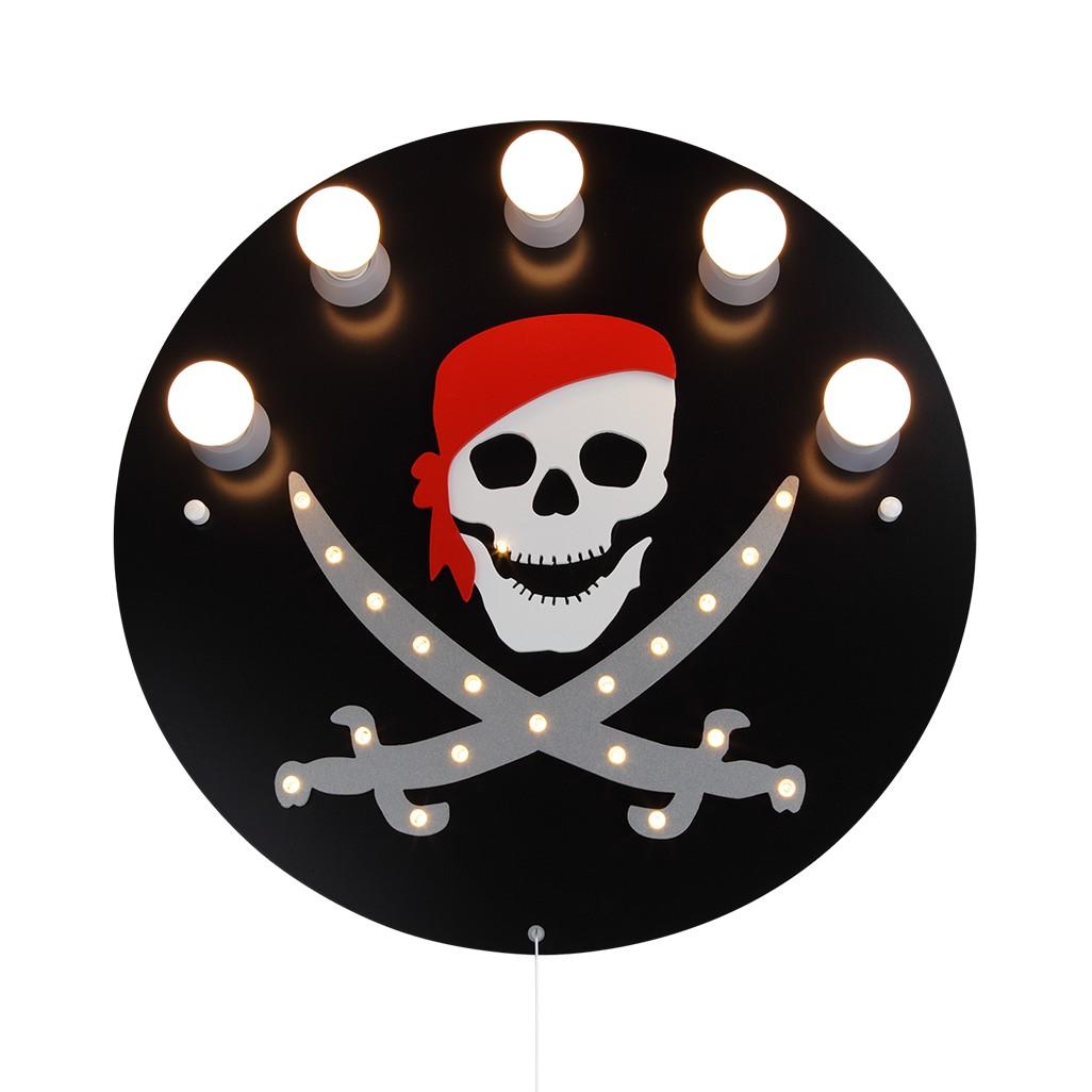 home24 Deckenleuchte Pirat 5/20
