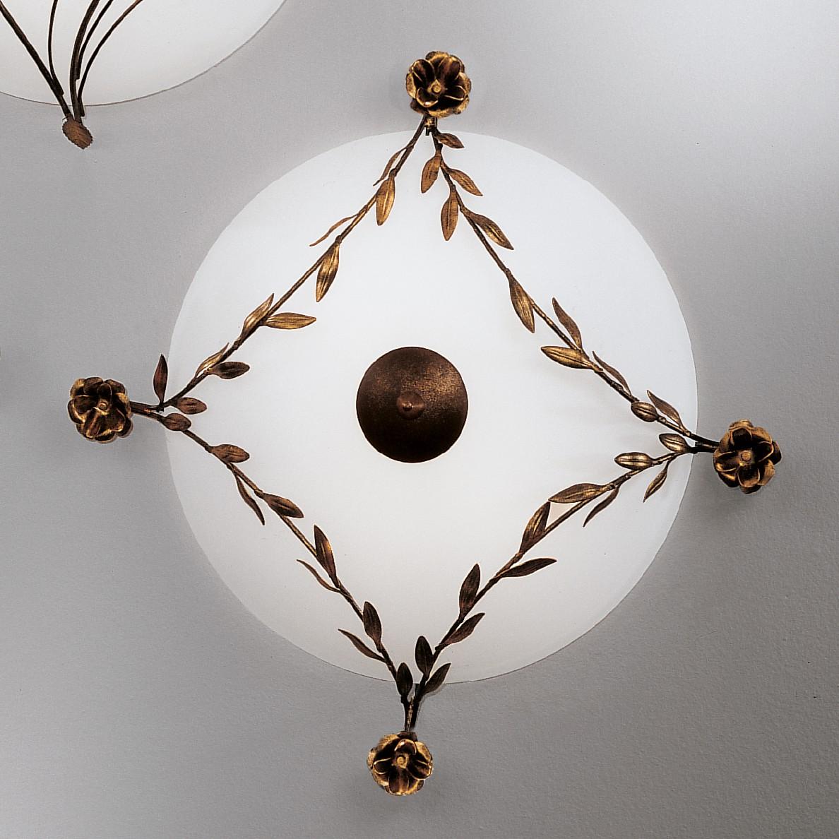 Lampada da soffitto Rose, Hans Koegl