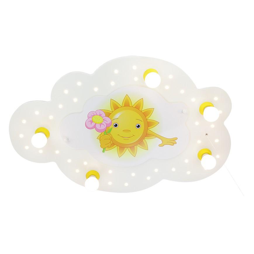 Deckenleuchte Sonne mit Blume 5/40, Elobra