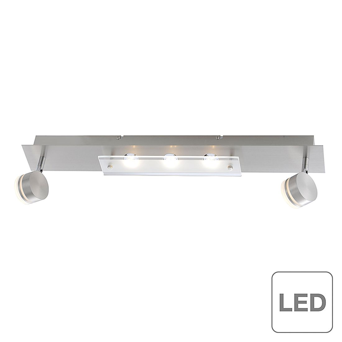 home24 LED-Deckenleuchte Trilok