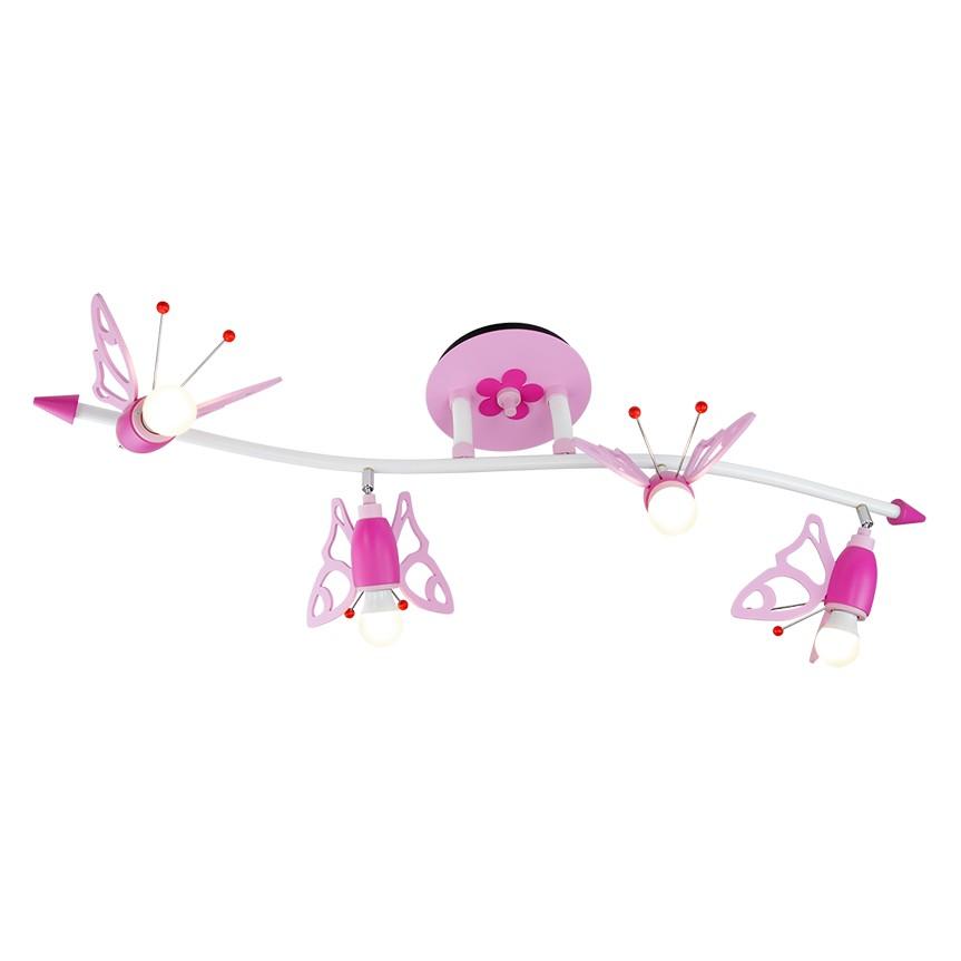 Plafonnier Vague et papillons
