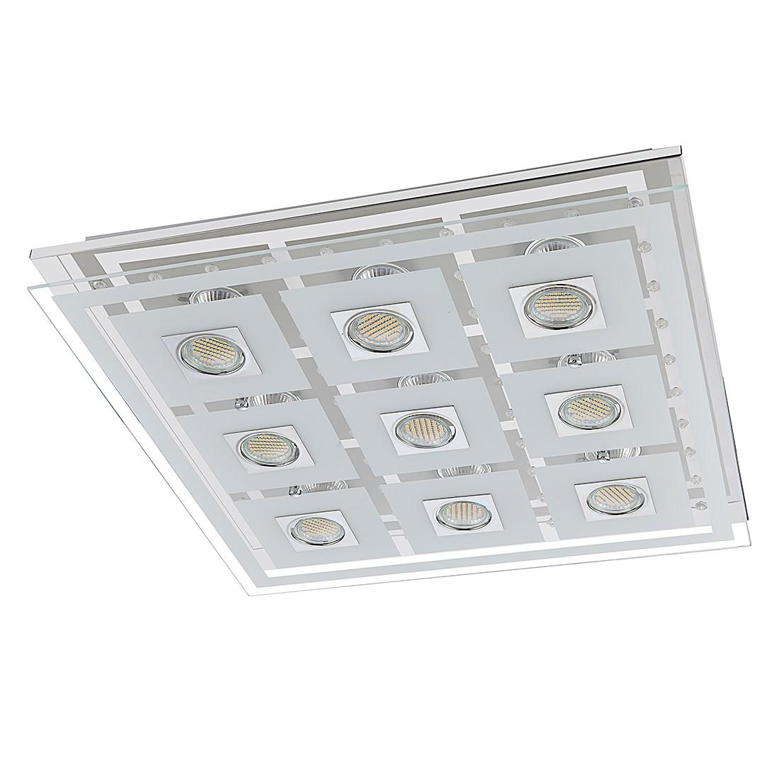 Plafondlamp ZOE metaal-glas 9 lichtbronnen, Action