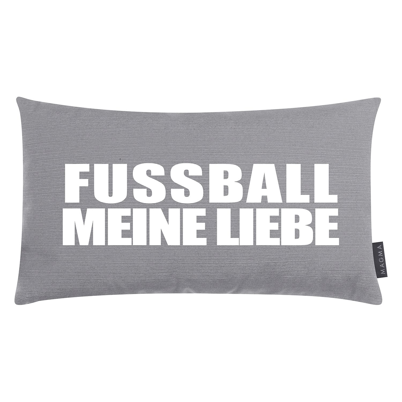 home24 Dekokissen Fussball meine Liebe