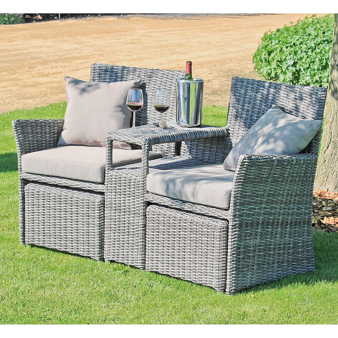 polyrattan stuhl grau rattan grau auflagen beige maestro rattan grau auflagen beige maestro. Black Bedroom Furniture Sets. Home Design Ideas