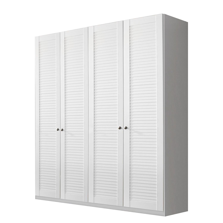 goedkoop Draaideurkast Agnetha alpinewit 181cm 4 deurs Rauch Select