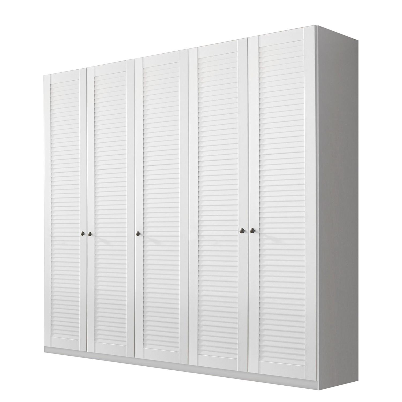 goedkoop Draaideurkast Agnetha alpinewit 225cm 5 deurs Rauch Select