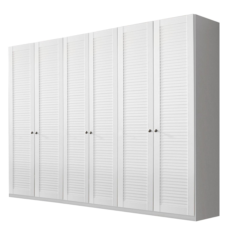 goedkoop Draaideurkast Agnetha alpinewit 270cm 6 deurs Rauch Select