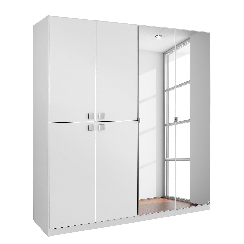 goedkoop Draaideurkast Caria Alpinewit 181cm 6 deurs Rauch Packs