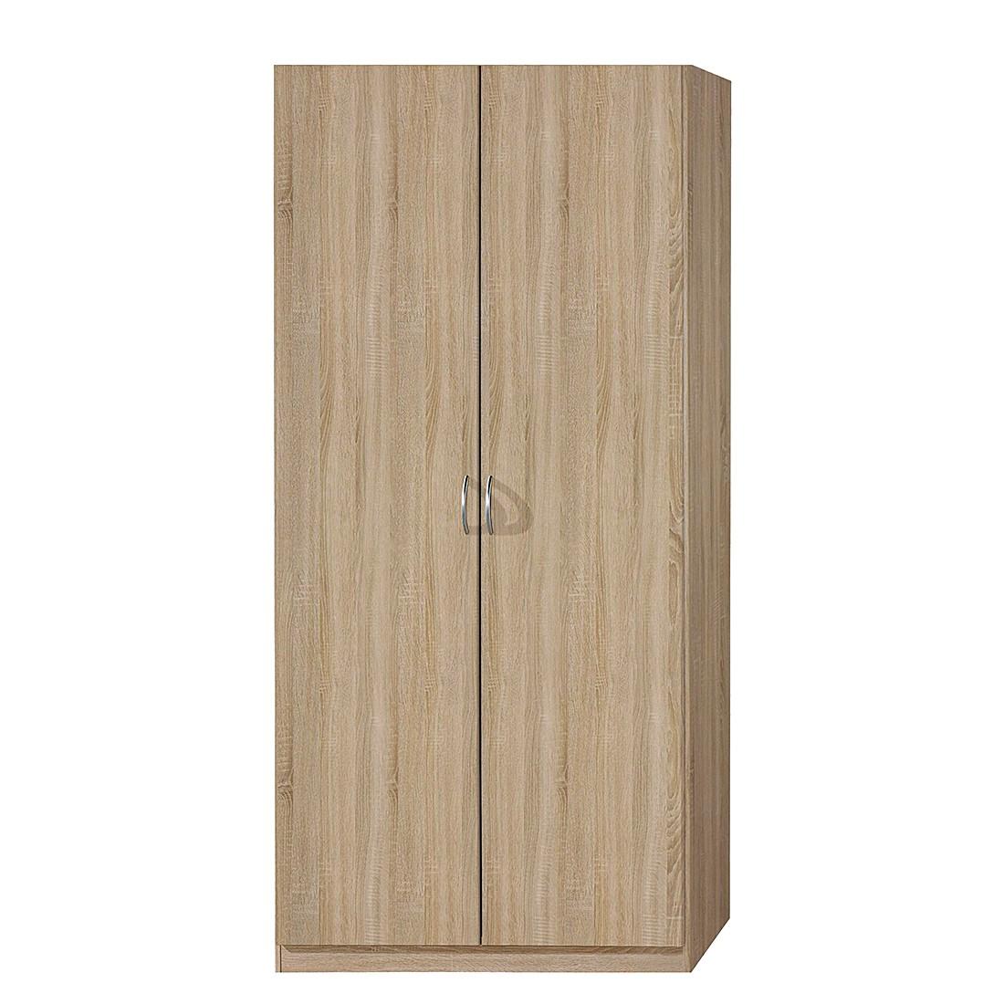 goedkoop Draaideurkast Case I Sonoma eikenhouten look kastbreedte 91cm 2 deurs standaard Rauch Packs