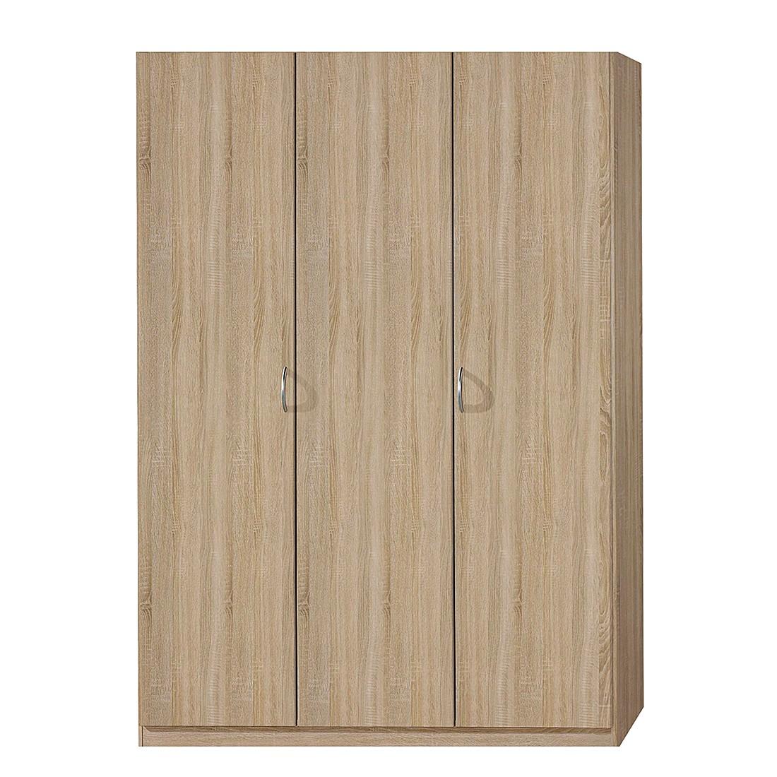 goedkoop Draaideurkast Case I Sonoma eikenhouten look kastbreedte 135cm 3 deurs standaard Rauch Packs
