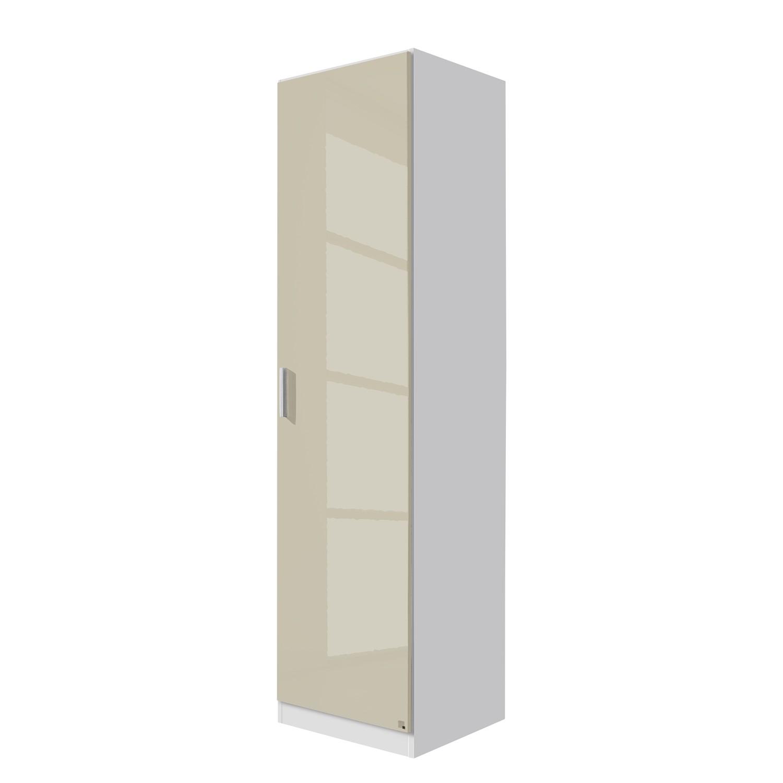 goedkoop Draaideurkast Celle Alpinewit hoogglans zandgrijs 47cm 1 deurs Rauch Packs