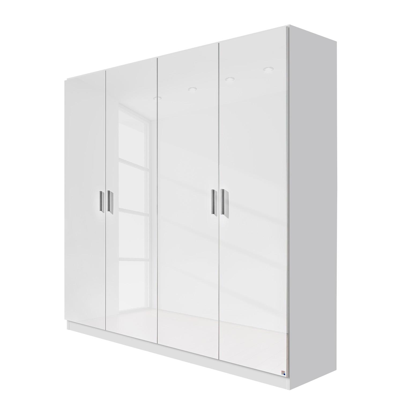 goedkoop Draaideurkast Celle Alpinewit hoogglans wit 181cm 4 deurs Rauch Packs