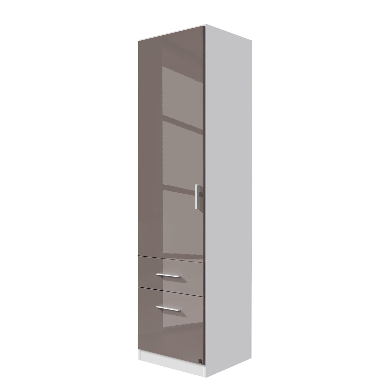 goedkoop Draaideurkast Celle I Alpinewit hoogglans lavagrijs 47cm 1 deurs Rauch Packs