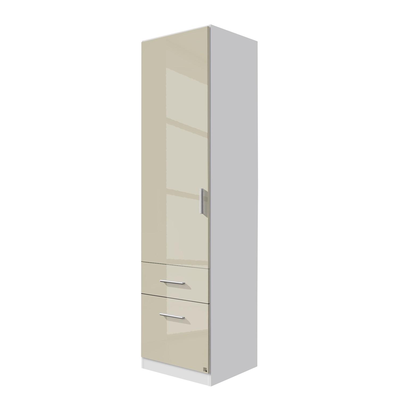 goedkoop Draaideurkast Celle I Alpinewit hoogglans zandgrijs 47cm 1 deurs Rauch Packs