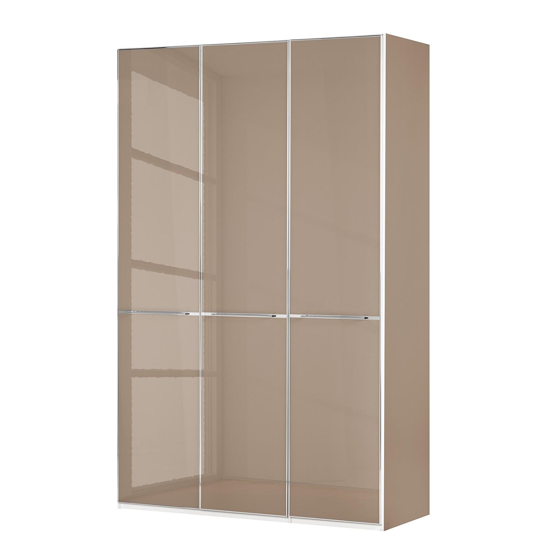 goedkoop Draaideurkast Chicago I Donker Sahara glas 150cm 3 deurs 236cm Wiemann
