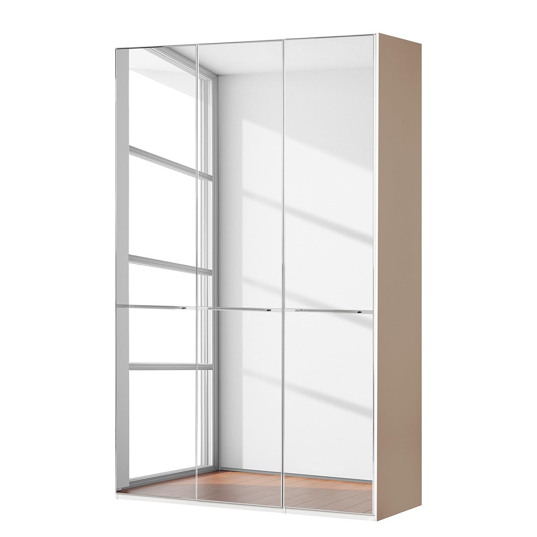 goedkoop Draaideurkast Chicago I Sahara spiegelglas 150cm 3 deurs 236cm Wiemann