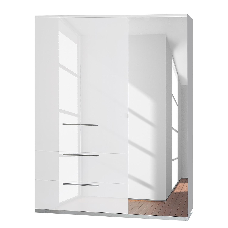 goedkoop Draaideurkast Kröslin wit 162cm 3 deurs Sciae