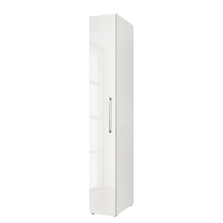 goedkoop Draaideurkast KSW I Hoogglans alpinewit 30 cm 1 deurs WelleMobel