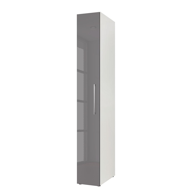 goedkoop Draaideurkast KSW I Hoogglans lavagrijs 30 cm 1 deurs WelleMobel