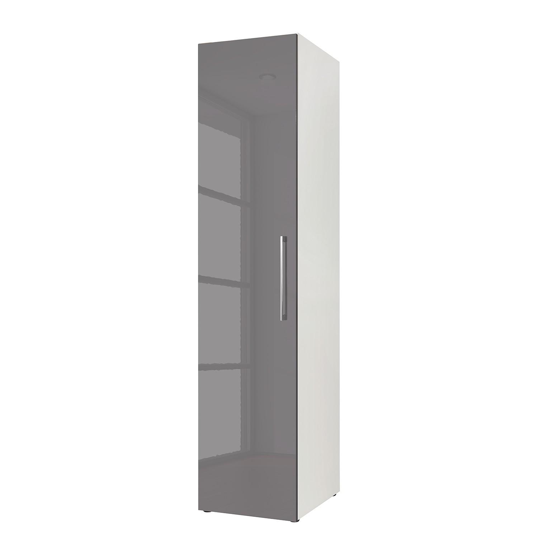 goedkoop Draaideurkast KSW I Hoogglans lavagrijs 45 cm 1 deurs WelleMobel