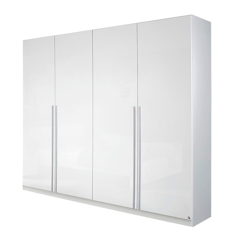 goedkoop Draaideurkast Lorca Alpinewit hoogglans wit 226cm 4 deurs Rauch Packs